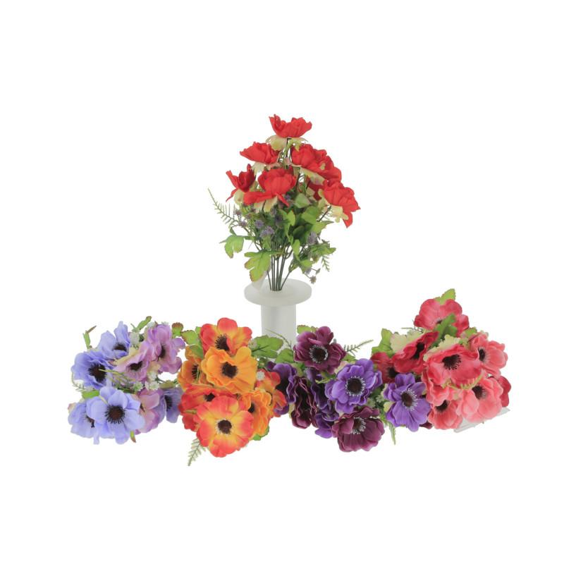 Kwiaty sztuczne bukiet maku