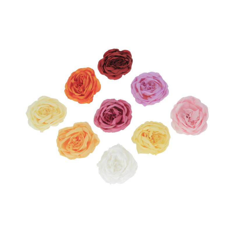 Kwiaty sztuczne wyrobowa róża