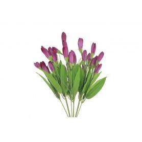 Искусственные цветы букет крокусa
