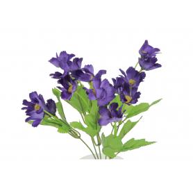 Искусственные цветы букет маленький георгины