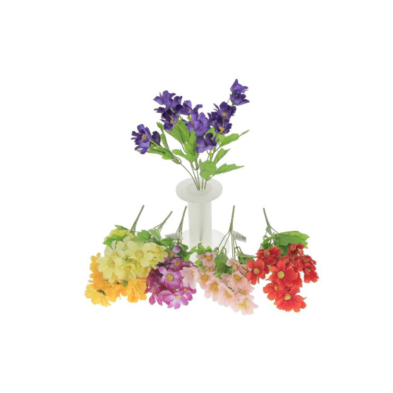Kwiaty sztuczne bukiet mały dalii