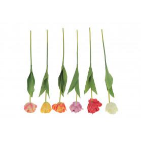Kwiaty sztuczne tulipan pojedynczy