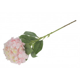 Kwiaty sztuczne pojedyńcza hortensja