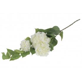 Kwiaty sztuczne gałązka hortensji