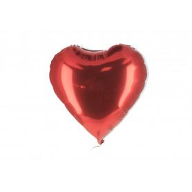 Tw.sztuczne balony fiolowe serca 45cm