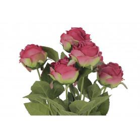 Kwiaty sztuczne bukiet angielskiej róży