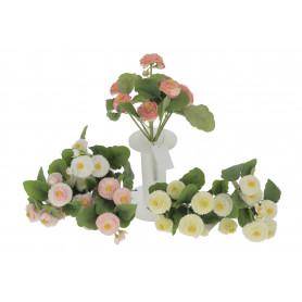 Kwiaty sztuczne bukiet stokrotki mix