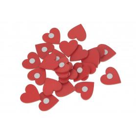 Tw.sztuczne serca klej 24szt/kpl