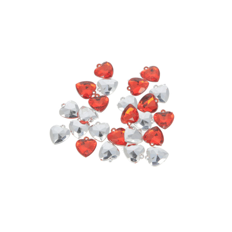 Декоративные сердечки подвески (1,5 см ) WWW1041
