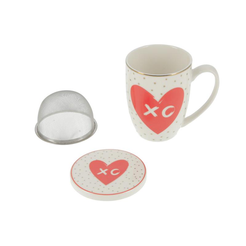 Ceramiczny kubek LOVE XO