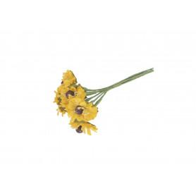 Искусственные цветы: подсолнух