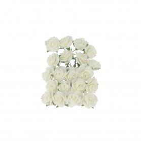 Bukieciki Róż piankowe mini