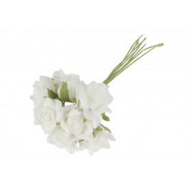 Kwiaty sztuczne bukiet róża pianka