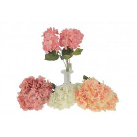 Kwiaty sztuczne hortensja-bukiet
