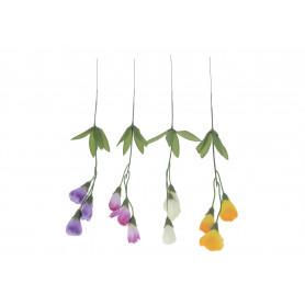 Kwiaty sztuczne krokus gałązka