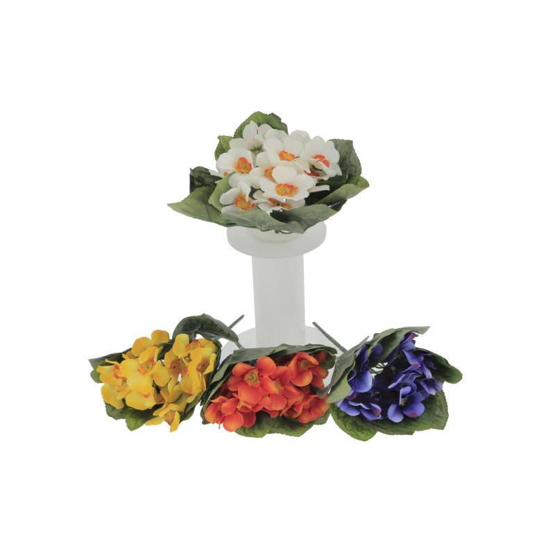 Kwiaty sztuczne prymula-bukietx12