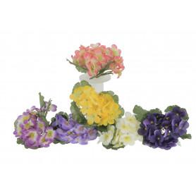 Kwiaty sztuczne bukiet fiołek