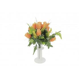 Kwiaty sztuczne: bukiet róż (pąk)