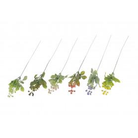 Kwiaty sztuczne kulki na gałązce