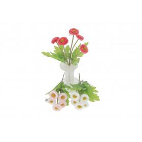 STOKROTKA (bukiecik)-Kwiaty sztuczne