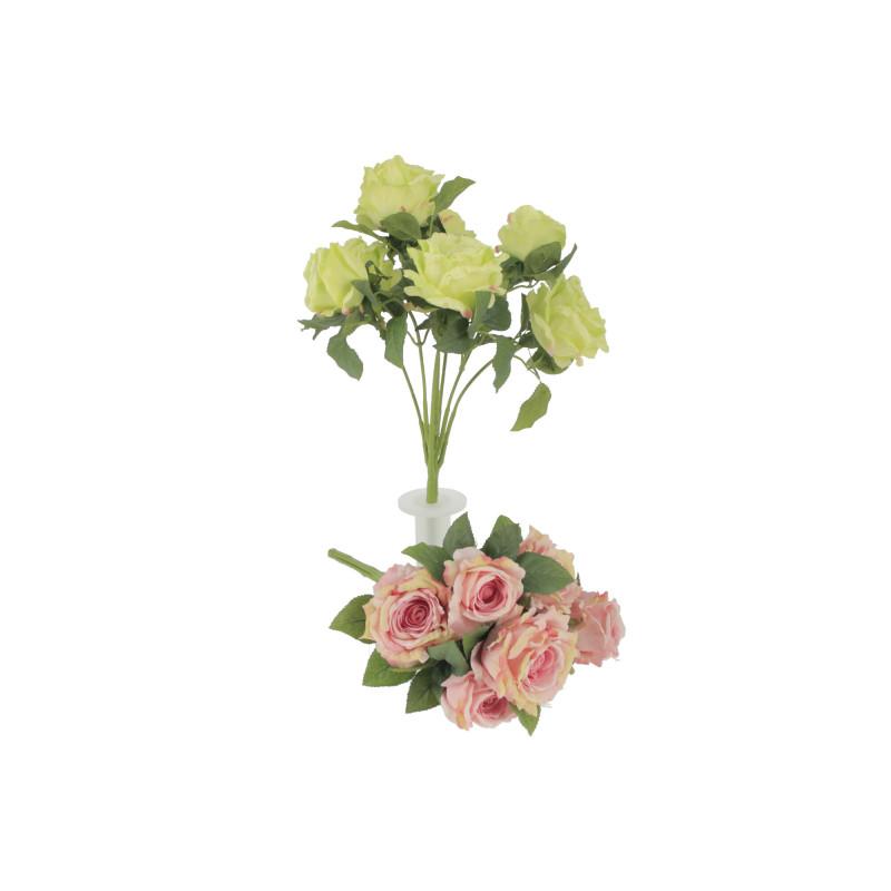 Kwiaty sztuczne: bukiet róż