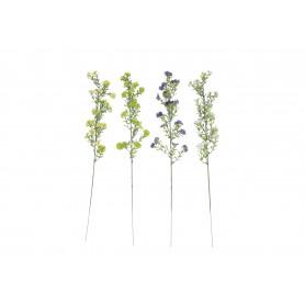 Искусственные цветы: веточка мелких цветов