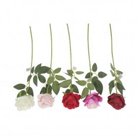 Róża gałązka welurowa
