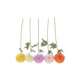Kwiaty sztuczne chryzantema poj