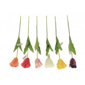 Kwiaty sztuczne tulipan p.