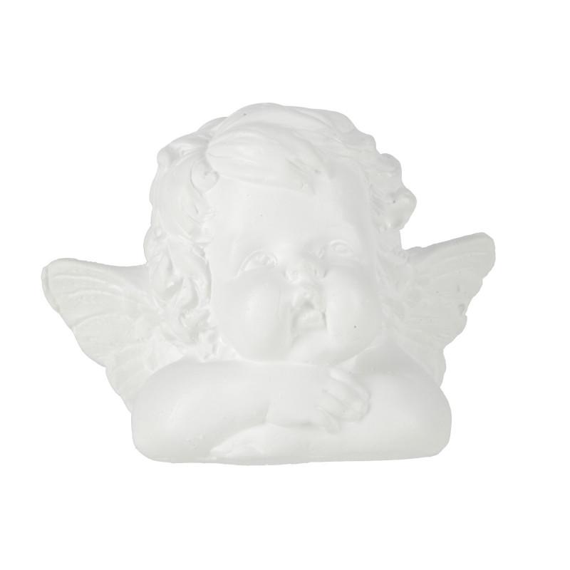 Gipsowe popiersie anioła 10,5x15 cm