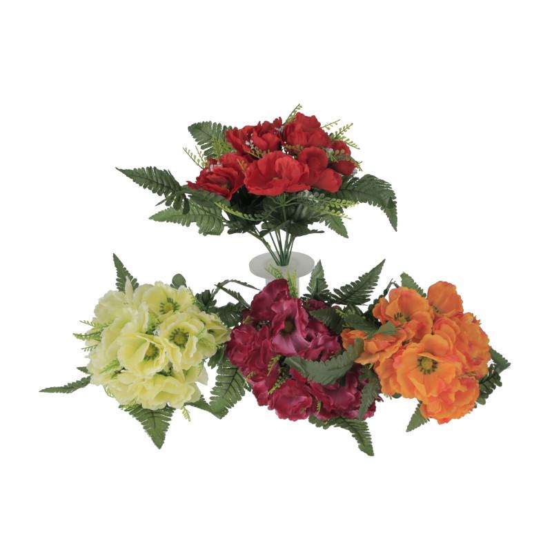 Kwiaty sztuczne bukiet anemonów