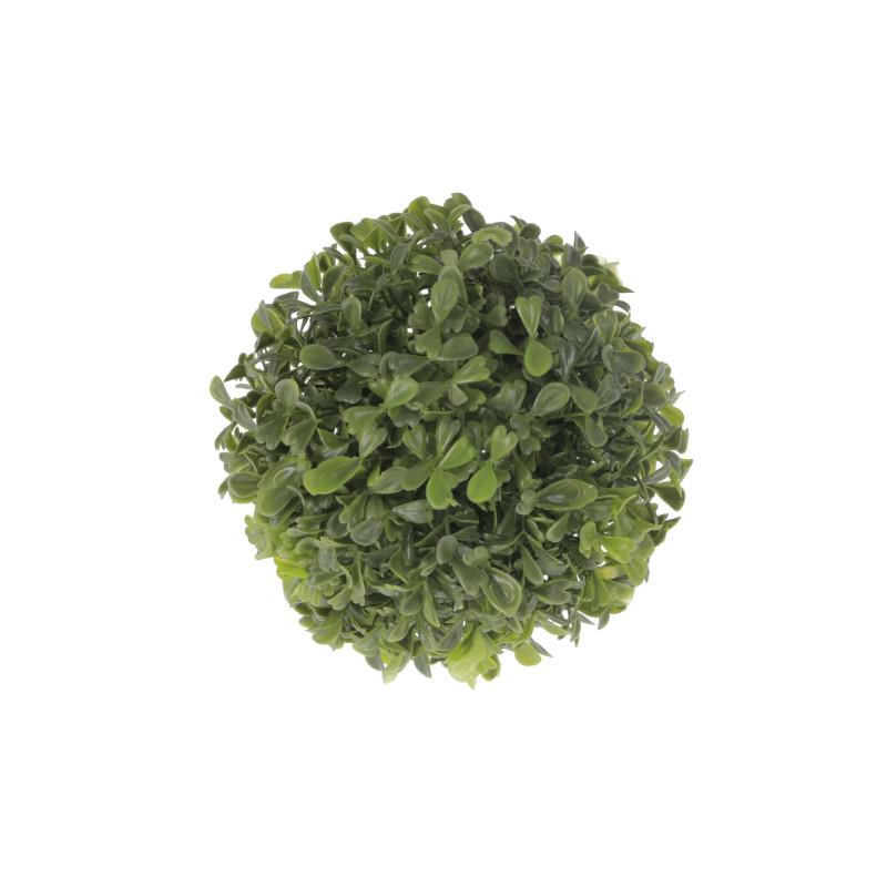 Kwiaty sztuczne kula bukszpanowa 16green