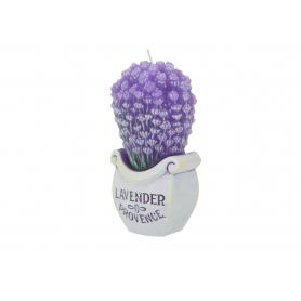 Свеча Lavender Boutique букет 140 mm