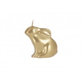 Świeca golden easter zajączek figurka 75