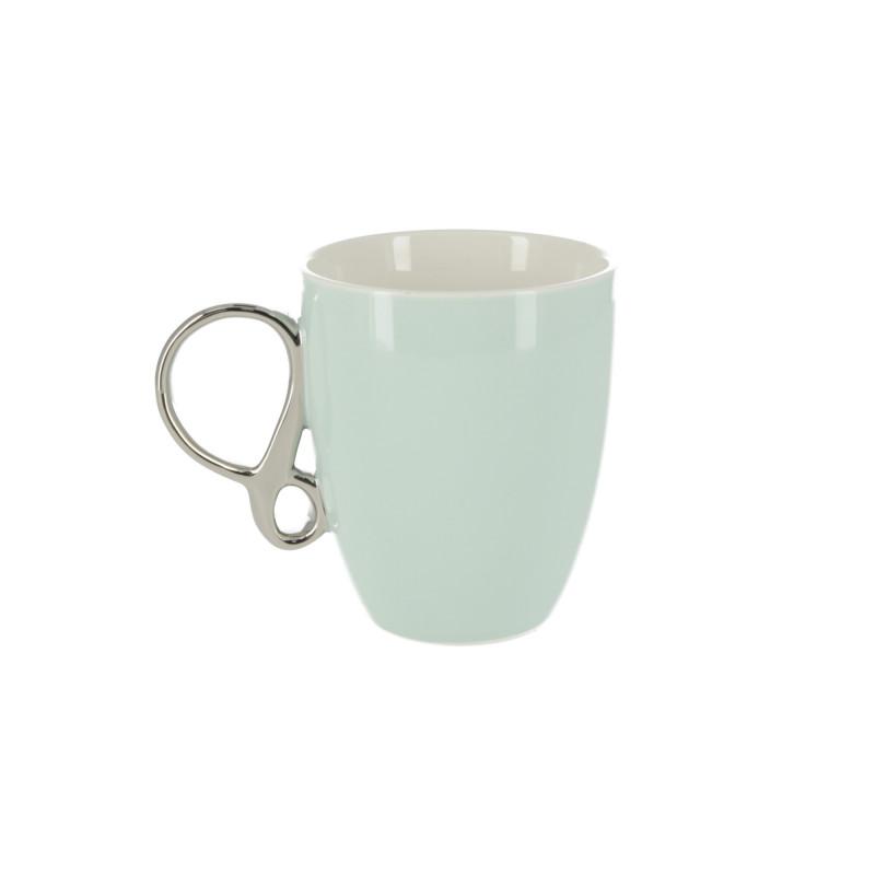 Ceramiczny kubek infinity silver 370ml
