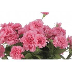 Kwiaty sztuczne: bukiet goździka