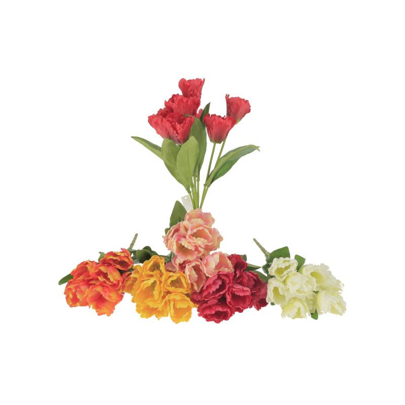 Kwiaty sztuczne bukiet tulipan x9