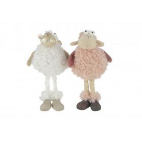 Pluszowa owca stojąca średnia