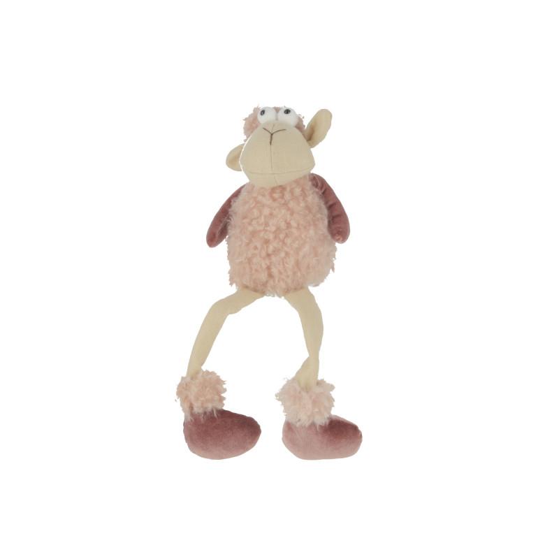 Pluszowa kolorowa owca siedząca duża