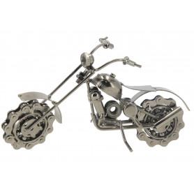 Metalowy motocykl o wysokości 20 cm