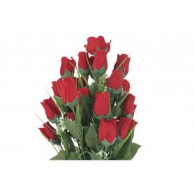 Kwiaty sztuczne bukiet róż w pąku