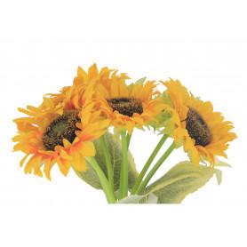 Kwiaty stzuczne bukiet słonecznik