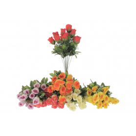 Kwiaty szruczne bukiet róża