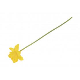 Kwiaty sztuczne żonkil pojedyńczy
