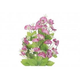 Kwiaty sztuczne bukiet bratek płaski