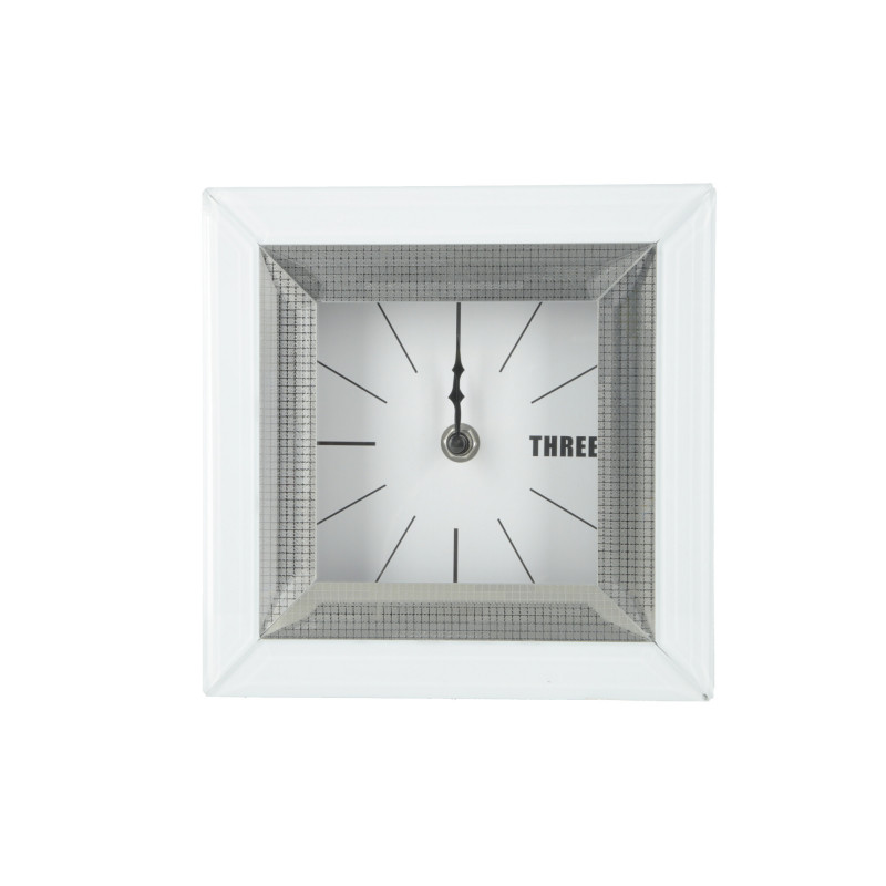 Zegar lustrzany 18x18x5cm