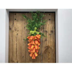 paczka produktów do wielkanocnego stroiku- marchewki