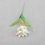 Искусственные цветы: ветреница на палочке