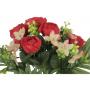 Kwiaty sztuczne bukiet kamelki