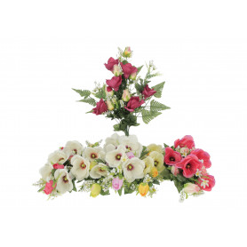 Kwiaty sztuczne bukiet magnolia